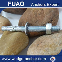 Carbon Steel Concrete M8 wedge anchor bolt fastener made in China