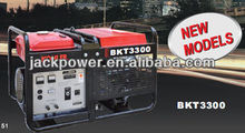 4 Stroke / OHV Small Gas Powered Generator , 15KW Three Phase