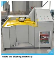Professional scrap tire recycling machine to make rubber powder Pyrolysis Oil Waste Tire Shredding Machinery Shredder Crusher