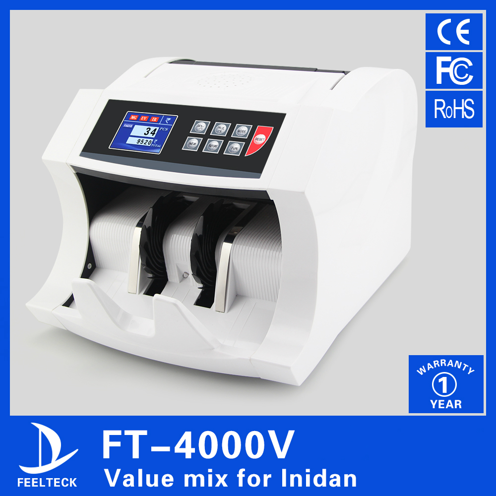 fake currency money counting and value counting machine