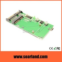 New arrival msata mini pci-e ssd to usb sata combo card