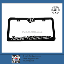 2015 car license plate frames no led no hide the number plate no shutter