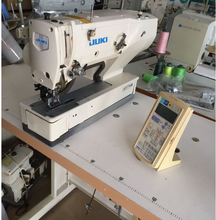 Used JUKI 1790 computerized straight button hole sewing machine in good condition