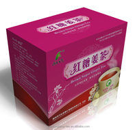 Chinese instant brown sugar ginger tea