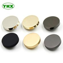 Hot sell new design high quality stock metal botton <strong>flat</strong> sewing buttons for clothing