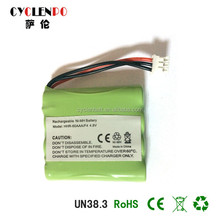 New arrival!! 4.8v 600mah ni-mh aaa battery pack and high quality rechargeable battery 18v for vacuum cleaner