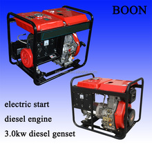 3kw 5kw generator diesel 1 cylinder, 4-stroke, air cooled OHV