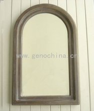 Wall Mirror with antique wood-like frame antique mirror frame