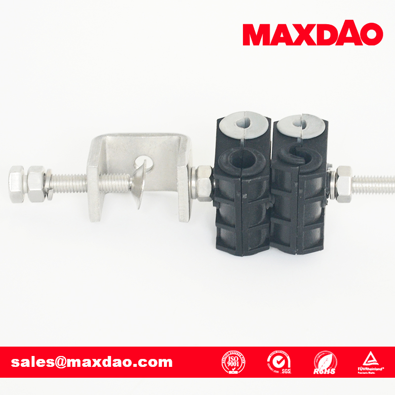 UCP type coaxial cable clamp