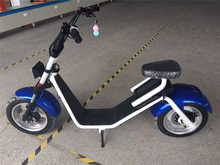 2016 popular Harley style 1000W hoverbord scooter with one seat and two wheels