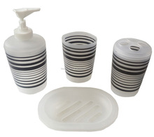 New design nice elegant Bathroom Accessories 4 pieces bathroom set