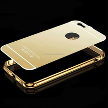 2015 High Quality Metal Mirror Case Cover for Samsung galaxy S6,For Samsung Galaxy S6 Bumper Mirror Case ,Mirror Phone Case