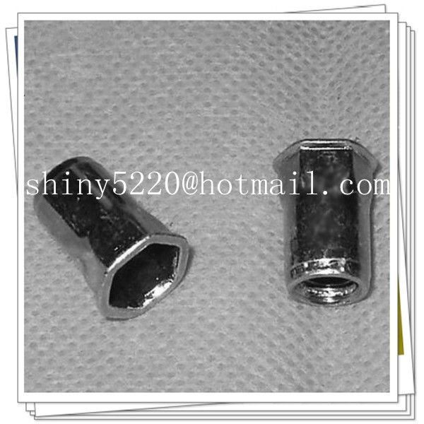 good quality 1/4-20 stainless steel <strong>hex</strong> body rivet <strong>nut</strong>