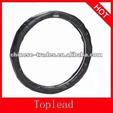 Best quality Genuine leather car steering wheel cover