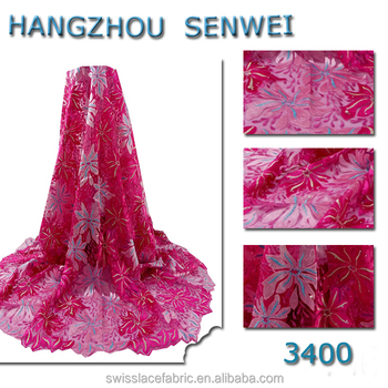 Hot wholesale nigeria dress french african tulle lace fabric for women dress