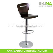 China supplier antique solid wood bar chair