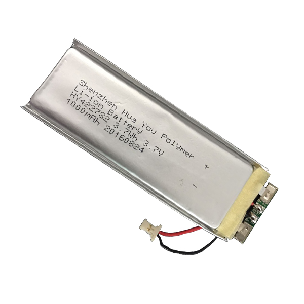 422782 3.7W 3.7V 1000mAh flat lithium ion battery cell for 3.7 v battery
