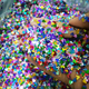 Top selling Holographic colorful Mix Mickey glitter for Tumbler&Crafts
