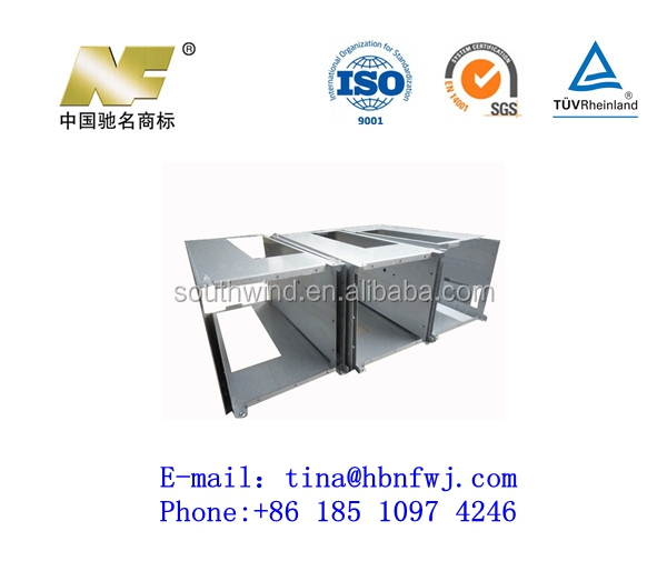 Customized Galvanized Plate Hardware or Sheet Metal Stamping Cabinets or Chassis Accessories Factory in China