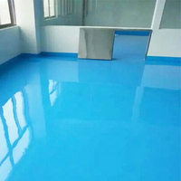 Flat Epoxy Coating Painting Concrete