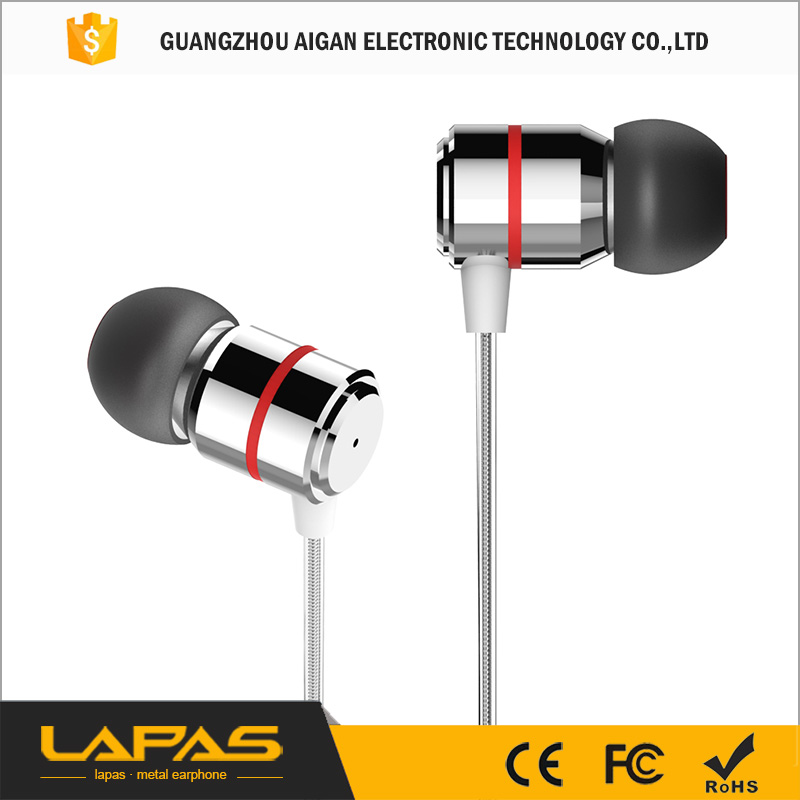 Hot Sale!!! Style Earphones 3.5mm In Ear Earbuds Music Stereo Headset For MP3 MP4 Mobile Phone