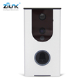 Smart home front door camera, 2017 hot selling battery power doorbell wireles remote control