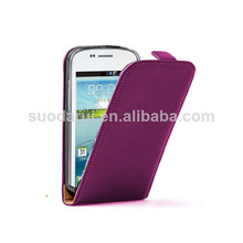 Slim Filp Leather case for Samsung Galaxy Win I8552 Mix color