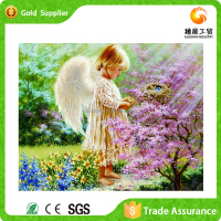China Factory Joyful Hand Made 3D Diy Diamond Painting Art
