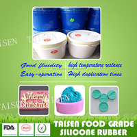 ROHS and FDA food grade liquid silicone rubber for mold making
