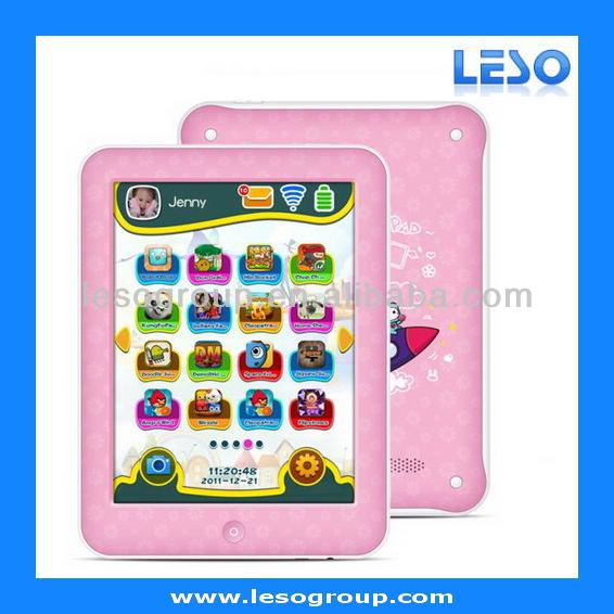 8 Inch RK3168 Dual Core Android 4.2 Kids Tablet With Educational Software