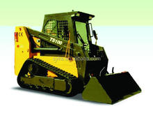 Chinese Brand New 1500kg Rated Loading Skid Steer Loader with Optional Attachments