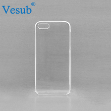 Wholesale Guangzhou 5 Inch Clear Sublimation Hard Plastic Phone Case For iPhone 6