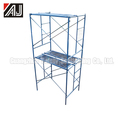 Light Duty Ladder Frame Steel Tower Scaffolding