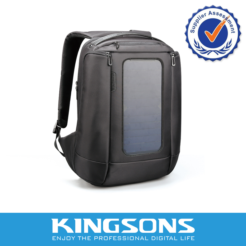 Professional design Mens Shoulder Solar Smart Backpack