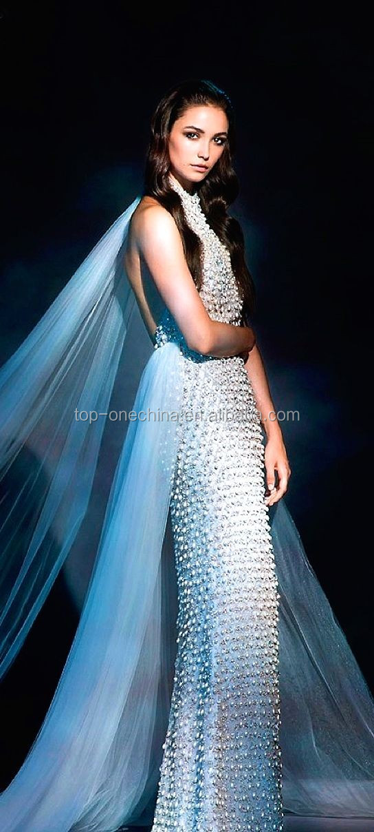 Beading Embroidery Handwork Bridal Lace Wedding Dress,3d Gold Beaded ...