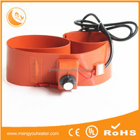 220v 55 gallon silicone rubber heating band, oil drum heater