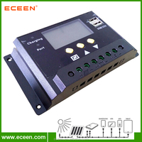 China original design MPPT charge controller, PWM solar charge controller 12V 24V auto, 48V