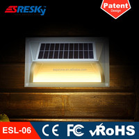 Outdoor Decoration Solar Hotel Electronic Wall Lamp