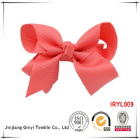 customized design bow baby headband with flower