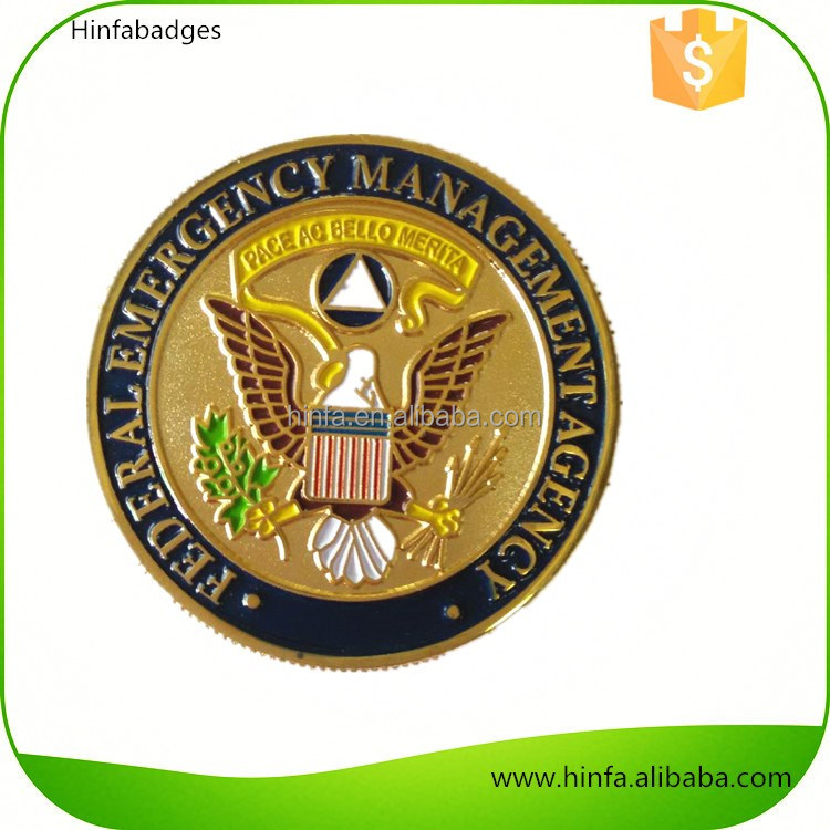Zinc Alloy Custom Nypd Challenge Coin