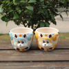 Attractive small animal decor ceramic indoor planters