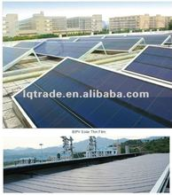 10KW thin film solar power roofing system metal roofing sheet integrated with thin film solar