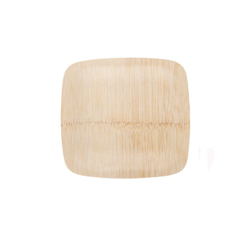 Disposable biodegradable bamboo/ wood charger plates wedding