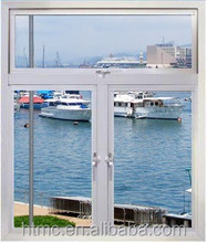 2015 Fashionable Aluminium casement window and door ,aluminium top hung and fixed window