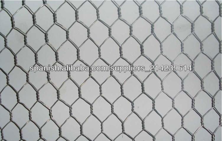 Malla de alambre hexagonal recubierto de pvc galvanizado - Malla alambre galvanizado ...