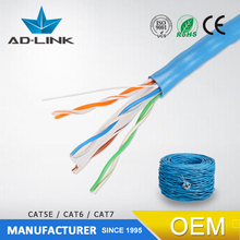 good price list of cable cat3 cat5e cat6 26awg/28awg new pvc material