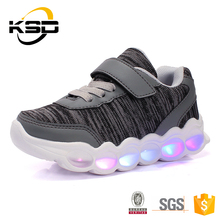 Bulk Wholesale Flashing Sole Children Sneakers Led Strip Light Up Shoes Kids