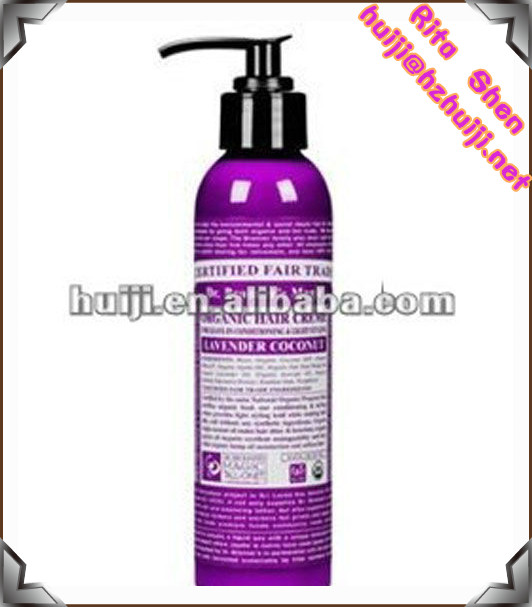 500ml natural hair care shampoo with nice bottle and private label