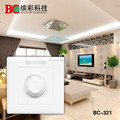High voltage wall mounted knob control PWM10V led dimmer IR remote