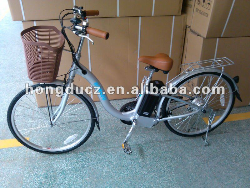 Japanese electric bicycle design for carry baby